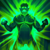 Arkkis Chummuck Green Lantern of Sector 3014 P3 Sword and Shield.png