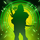 Green Arrow The Emerald Archer P2 Storm of Arrows.png