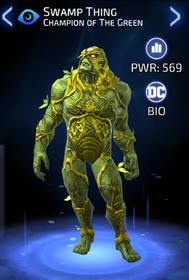 Swamp Thing: Champion of The Green - DC Legends Wiki